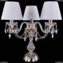1406L/3/141-39/G/SH32-160 Хрустальная настольная лампа Bohemia Ivele Crystal