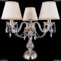 1406L/3/141-39/G/SH33A-160 Хрустальная настольная лампа Bohemia Ivele Crystal