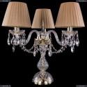1406L/3/141-39/G/SH37-160 Хрустальная настольная лампа Bohemia Ivele Crystal