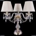 1406L/3/141-39/G/SH3A-160 Хрустальная настольная лампа Bohemia Ivele Crystal
