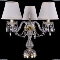 1406L/3/141-39/G/SH40A-160 Хрустальная настольная лампа Bohemia Ivele Crystal