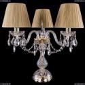 1406L/3/141-39/G/SH7-160 Хрустальная настольная лампа Bohemia Ivele Crystal