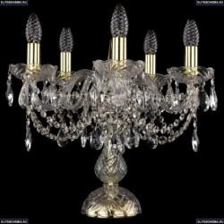 1406L/5/141-39/G Хрустальная настольная лампа Bohemia Ivele Crystal