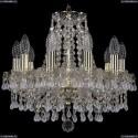 1410/10/141/G/V0300 Хрустальная подвесная люстра Bohemia Ivele Crystal