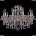 1410/10/195/G/V7010 Хрустальная подвесная люстра Bohemia Ivele Crystal