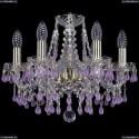1410/6/141/G/V7010 Хрустальная подвесная люстра Bohemia Ivele Crystal
