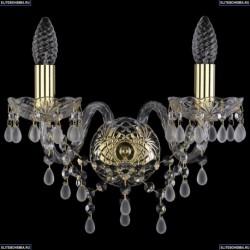 1410B/2/141/G/V0300 Хрустальное бра Bohemia Ivele Crystal