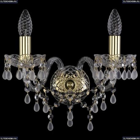 1410/2/G/V0300 Хрустальное бра Bohemia Ivele Crystal (Богемия)