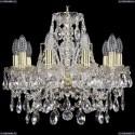 1411/10/141/G Хрустальная подвесная люстра Bohemia Ivele Crystal
