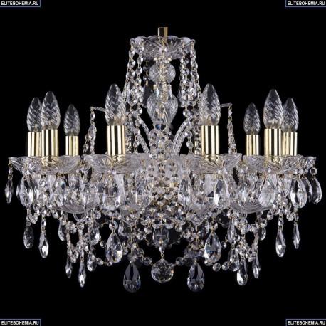 1411/10/195/G Хрустальная подвесная люстра Bohemia Ivele Crystal