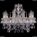 1411/10/195/G/Leafs Хрустальная подвесная люстра Bohemia Ivele Crystal (Богемия)