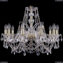 1411/10/240/G Хрустальная подвесная люстра Bohemia Ivele Crystal (Богемия)