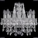 1411/12/141/Ni Хрустальная подвесная люстра Bohemia Ivele Crystal