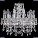 1411/12/141/Ni Хрустальная подвесная люстра Bohemia Ivele Crystal (Богемия)