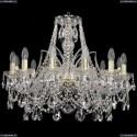 1411/12/240/G Хрустальная подвесная люстра Bohemia Ivele Crystal (Богемия)
