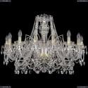 1411/16/300/G Хрустальная подвесная люстра Bohemia Ivele Crystal