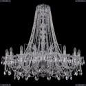 1411/18/400/h-113/Ni Хрустальная подвесная люстра Bohemia Ivele Crystal