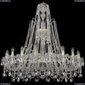 1411/20/400/XL-120/G Хрустальная подвесная люстра Bohemia Ivele Crystal