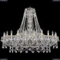 1411/24/460/G Хрустальная подвесная люстра Bohemia Ivele Crystal