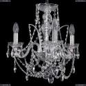 1411/3/141/Ni Хрустальная подвесная люстра Bohemia Ivele Crystal