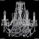 1411/4/160/Ni Хрустальная подвесная люстра Bohemia Ivele Crystal