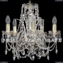 1411/5/141/G Хрустальная подвесная люстра Bohemia Ivele Crystal