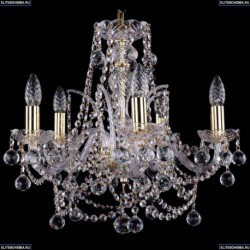 1411/5/160/G/Balls Хрустальная подвесная люстра Bohemia Ivele Crystal