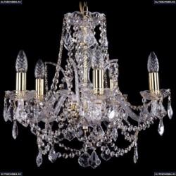 1411/5/160/G/Leafs Хрустальная подвесная люстра Bohemia Ivele Crystal (Богемия)