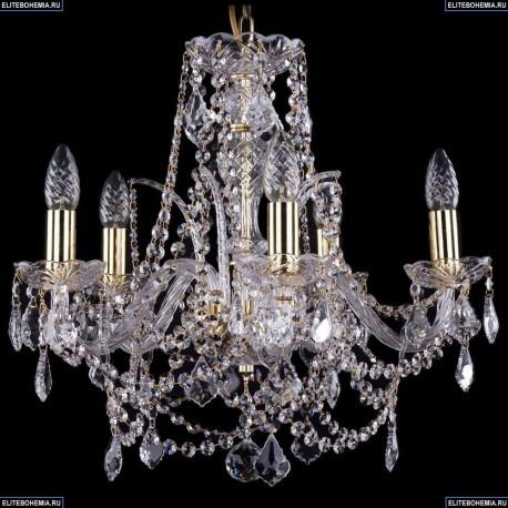 1411/5/160/G/Leafs Хрустальная подвесная люстра Bohemia Ivele Crystal