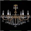 1702/6/250/B/GB/Balls Хрустальная подвесная люстра Bohemia Ivele Crystal