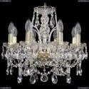 1411/8/141/G Хрустальная подвесная люстра Bohemia Ivele Crystal