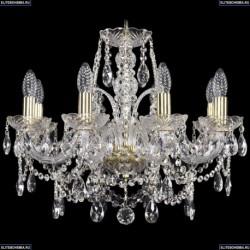 1411/8/195/G Хрустальная подвесная люстра Bohemia Ivele Crystal (Богемия)