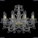 1411/8/195/G/Balls Хрустальная подвесная люстра Bohemia Ivele Crystal