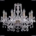 1411/8/195/Pa Хрустальная подвесная люстра Bohemia Ivele Crystal