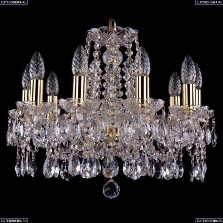 1413/10/165/G Хрустальная подвесная люстра Bohemia Ivele Crystal