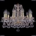 1413/10/165/G/Balls Хрустальная подвесная люстра Bohemia Ivele Crystal