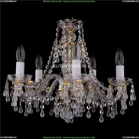 1410/5/160/G/0300 Хрустальная подвесная люстра Bohemia Ivele Crystal (Богемия)