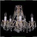 1410/5/160/G/V0300 Хрустальная подвесная люстра Bohemia Ivele Crystal (Богемия)