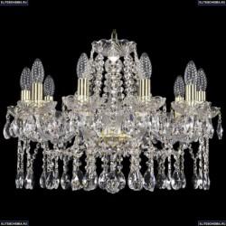 1413/10/200/G Хрустальная подвесная люстра Bohemia Ivele Crystal (Богемия)