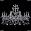 1413/10/300/Ni/Balls Хрустальная подвесная люстра Bohemia Ivele Crystal