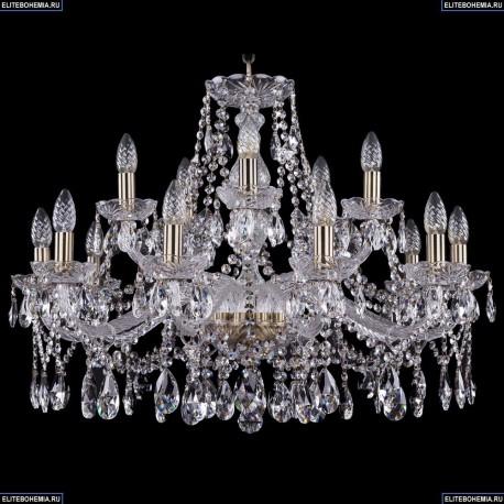 1413/10+5/300/Pa Хрустальная подвесная люстра Bohemia Ivele Crystal