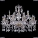 1413/10+5/300/Pa Хрустальная подвесная люстра Bohemia Ivele Crystal (Богемия)