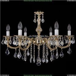 1702/6/250/B/GW/Leafs Хрустальная подвесная люстра Bohemia Ivele Crystal