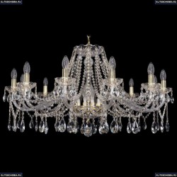 1413/12/360/G Хрустальная подвесная люстра Bohemia Ivele Crystal