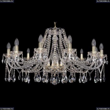 1413/12/360/G Хрустальная подвесная люстра Bohemia Ivele Crystal (Богемия)