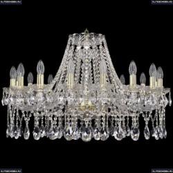 1413/16/300/G Хрустальная подвесная люстра Bohemia Ivele Crystal