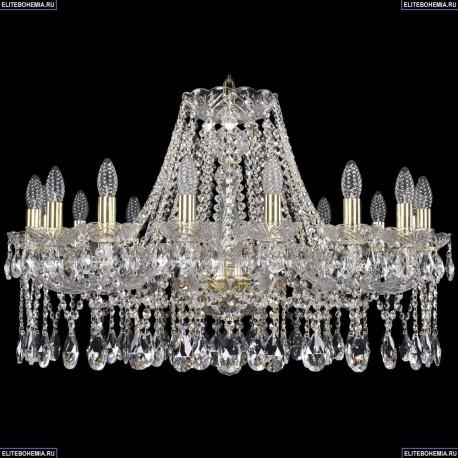 1413/16/300/G Хрустальная подвесная люстра Bohemia Ivele Crystal (Богемия)