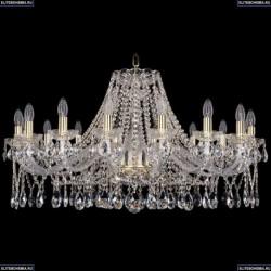 1413/16/360/G Хрустальная подвесная люстра Bohemia Ivele Crystal (Богемия)