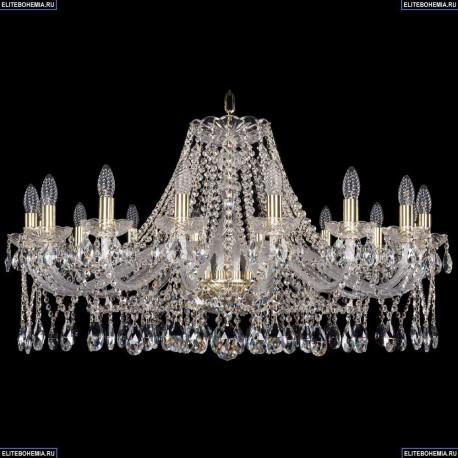 1413/16/360/G Хрустальная подвесная люстра Bohemia Ivele Crystal