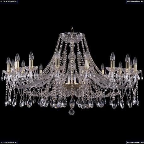 1413/16/400/G Хрустальная подвесная люстра Bohemia Ivele Crystal